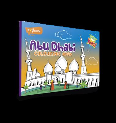 Abu Dhabi Colouring Book