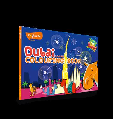 Dubai Colouring book