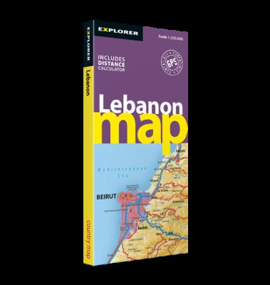 Lebanon Map