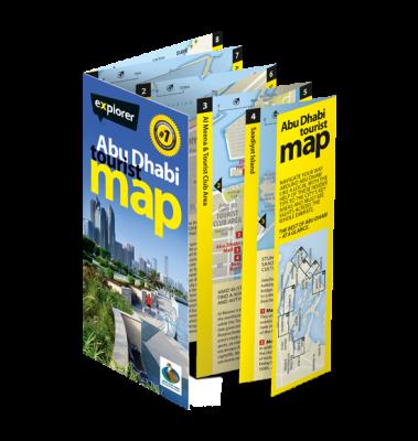 Abu Dhabi Tourist Map