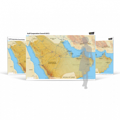 GCC Wall Map
